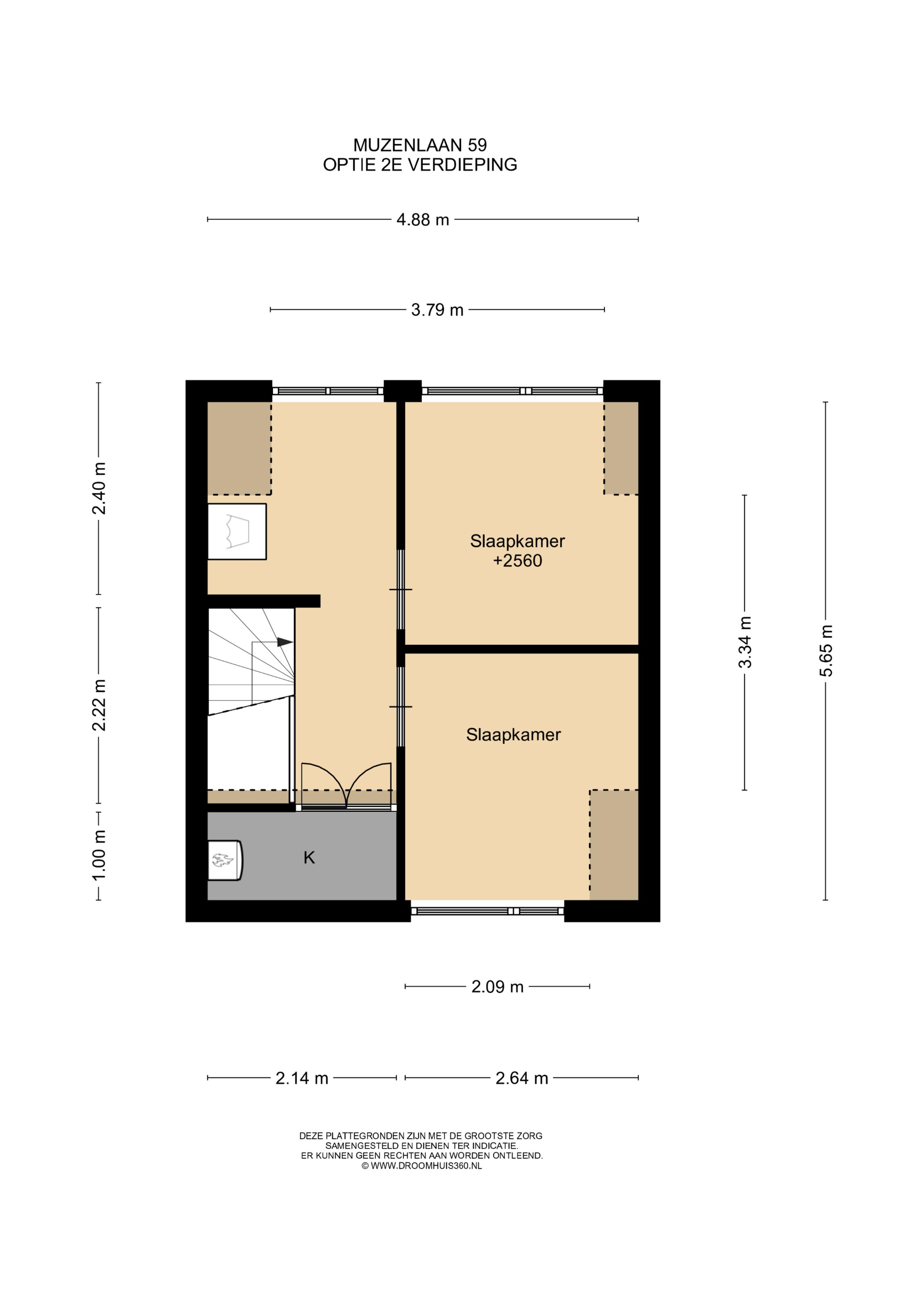 Optie tweede verdieping