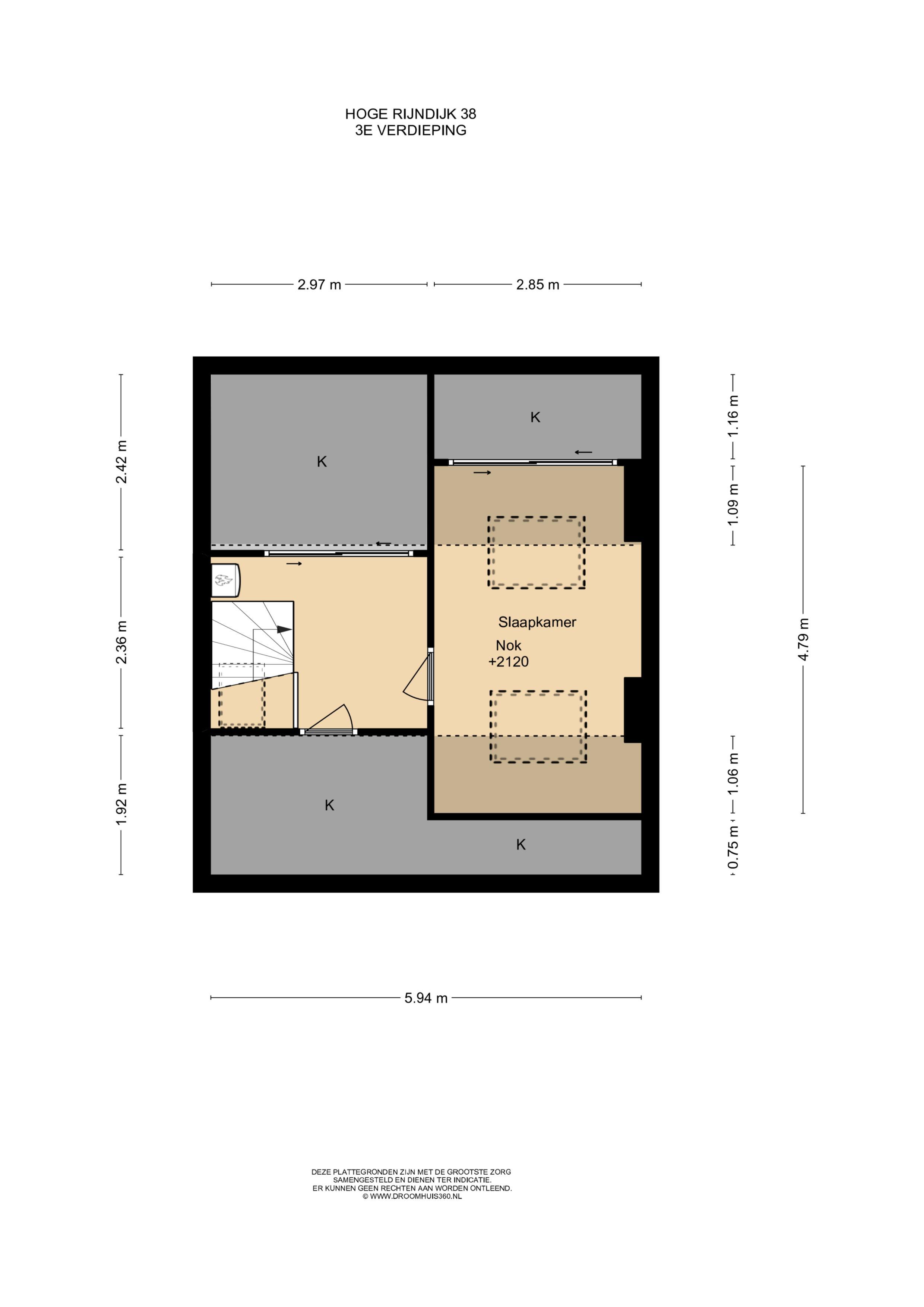 3e verdieping